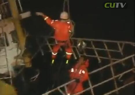 民用船触礁遇险 即展开海上营救 2016-10-22