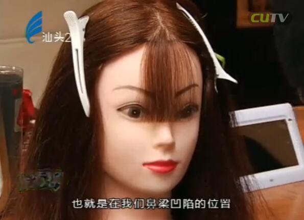 打理刘海巧扮靓 2016-11-27