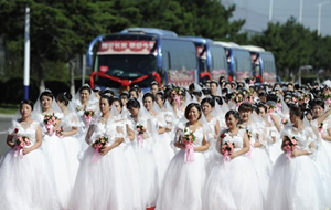 中车长客为162对新人举办集体婚礼