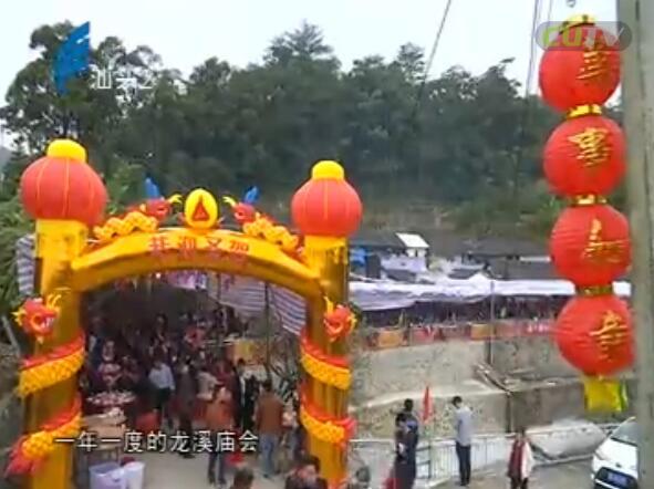 龙溪庙会历史久 祈求来年平安顺 2017-01-17
