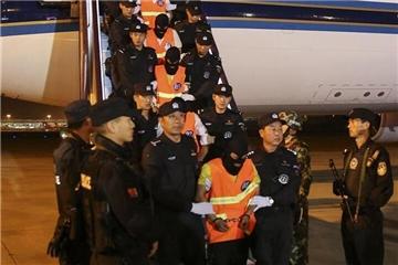 74名电信网络诈骗犯罪嫌疑人被押解回国