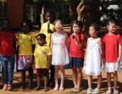 博茨瓦纳SOS儿童村迎来中国慈善人