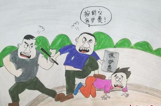 女民警手绘预警漫画:希望更多人理解警察的工作