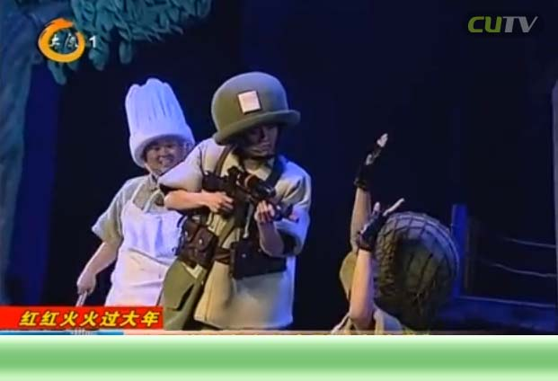 山西首创本土儿童剧《大头兵》深受小观众欢迎