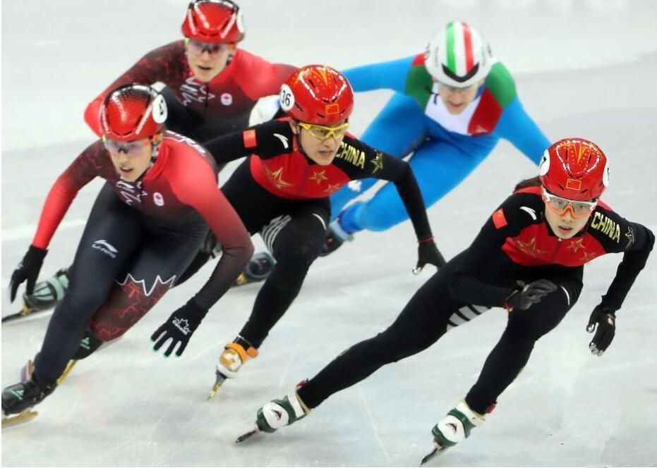 平昌冬奥会短道速滑女子3000米接力决赛 中国队被判犯规无缘奖牌