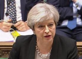 """英国反对党威胁推翻特雷莎·梅""""脱欧""""计划"""