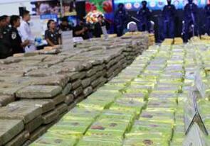泰国破获700千克冰毒走私案 涉案金额达1.4亿元