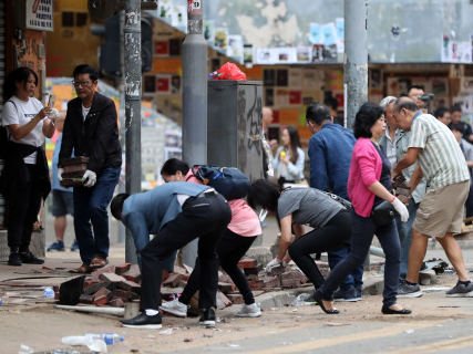 香港暴力肆虐,美国黑手罪责难逃