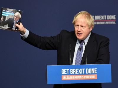 決定命運!英國大選將登場 約翰遜再允諾實現脫歐