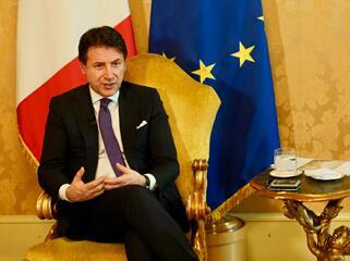 """意大利总理孔特:""""习主席的访问对我们来说是一次非常重要的机遇"""""""