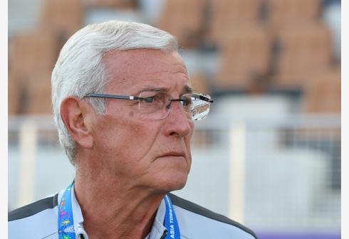里皮再次出任中国国家男子足球队主教练