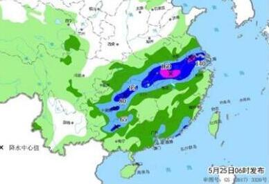 南方强降雨进入最强时段