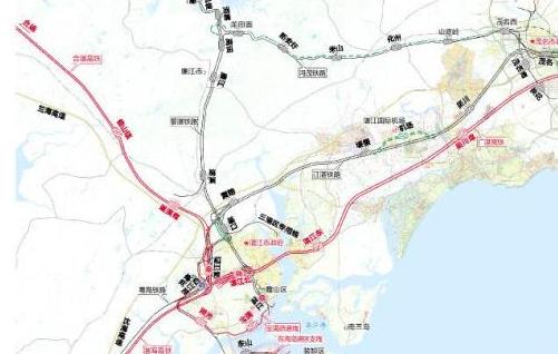 湛江铁路枢纽总图规划获批 未来将有五条高铁汇聚