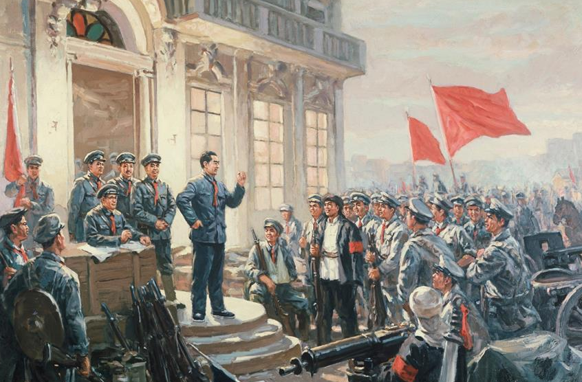 我们是一支不可战胜的力量——献给中国人民解放军建军92周年