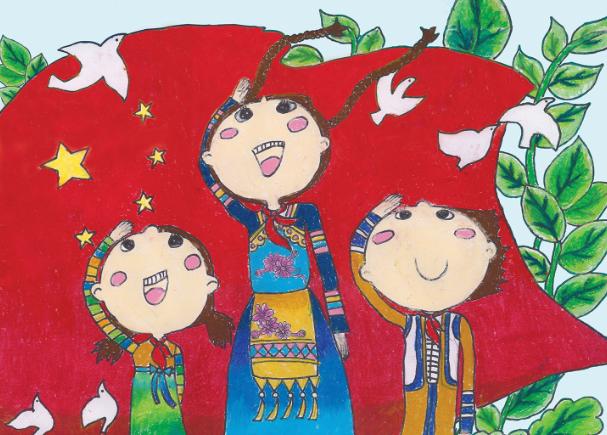 70周年·兒童畫公益廣告