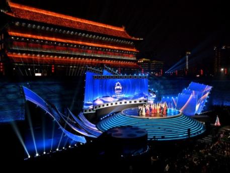 第七屆絲綢之路國際電影節在西安開幕