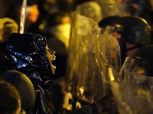 美國費城警察槍殺黑人引發抗議沖突