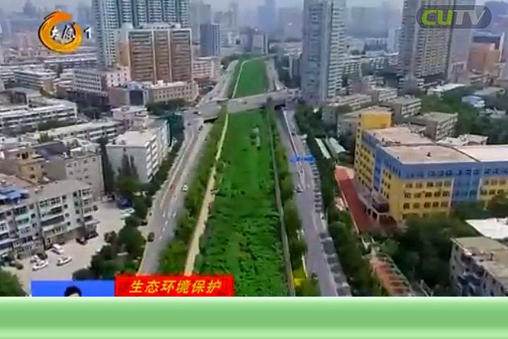 太原九河美如画:南沙河 流动的绿色风景