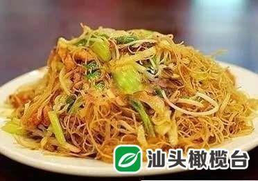 主食系列之四——咖喱炒米粉、咖喱鸡肉炒饭