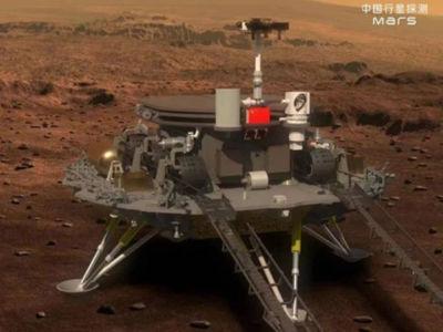 天问一号祝融火星车:火星到站!这一刻,让大家久等了