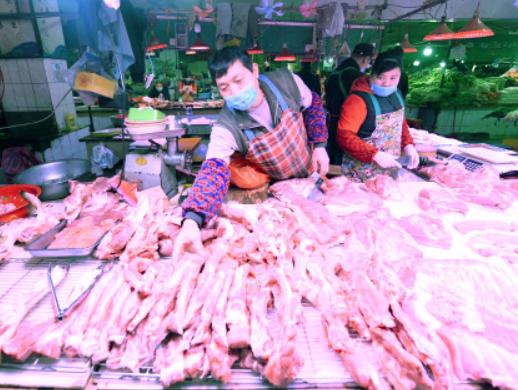商务部:上周猪肉批发价格下降6.3%